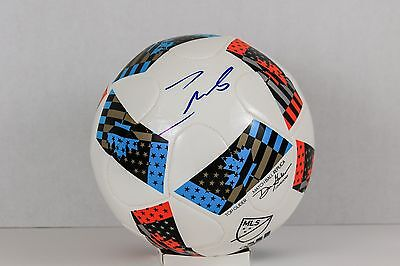 5bed1e34d Andrea Pirlo Signed 2016 MLS Match Replica Soccer Ball Juventus PSA COA   AB16428