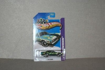 HOT WHEELS SHOWROOM SERIES SUPER TREASURE HUNT 71 DODGE DEMON