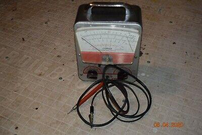 Vintage Working Conar National Radio Institute 211 Vacuum Tube Volt-ohm Meter