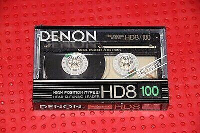 1 SEALED DENON HD-M  100    BLANK CASSETTE TAPE
