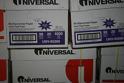 25 Case Count Of Universal Copier Paper 10 Reams500 Sheets Per Pick Up Only