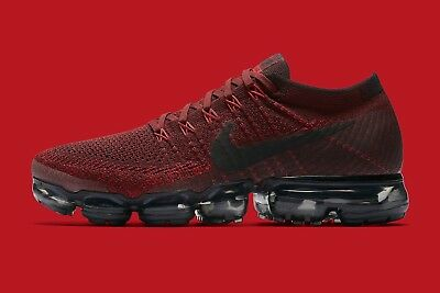 Nike Vapormax Flyknit Deep Red Size 13. 849558-601 air max 2017 90 97 12
