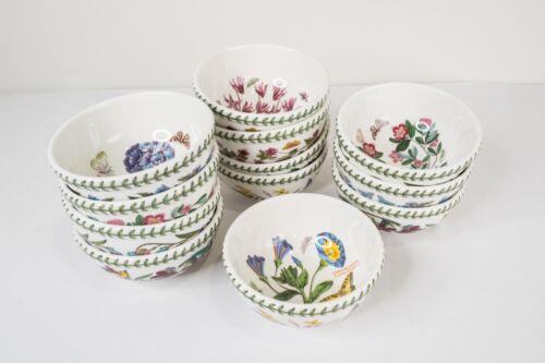 "Portmeirion Botanic Garden Stacking Fruit Salad Bowls Set of 12- 5 1/2"" D"