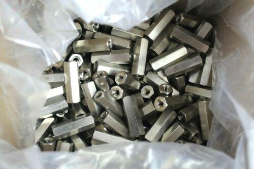 "Eckart & Finard F/F ¼-20 Thread 1½"" Stainless Steel Hex Standoff"