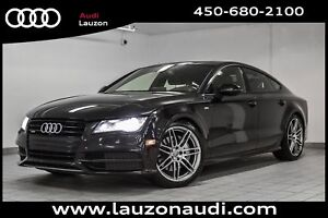 2014 Audi A7 3.0T TECHNIK BOSE S-LINE BLACK OPTICS