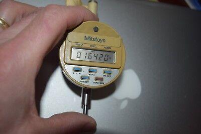 Mitutoyo Digimatic Dial Indicator 543-180. 0-.50-12.7mm Range .00005.001mm