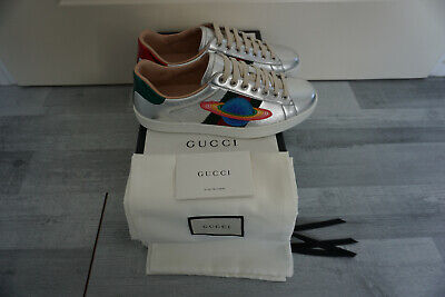 Gucci Ace Saturn Low Top Sneaker Sneakers Herrenschuhe Neu Shoes Men Train Sc -