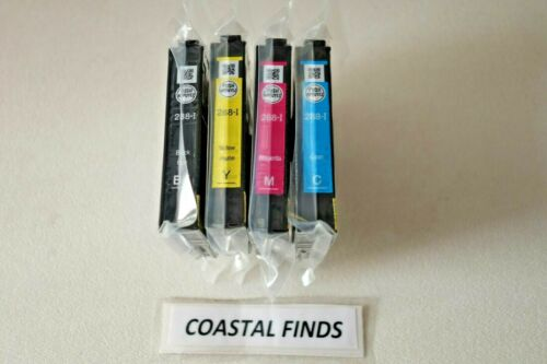 Epson 288 Ink Cartridge CMYK Set NEW OEM Genuine Sealed 288i T288 XP 330 340 446