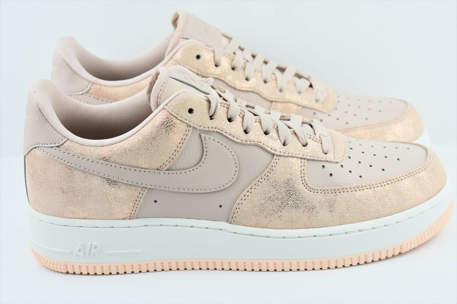 Womens Nike Air Force 1 '07 PRM Size 9.5 Shoes AF1 Metallic Bronze 616725 901