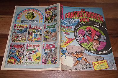 Marvel + Stan Lee + Williams:  die FANTASTISCHEN VIER # 35 -- in 1. Auflage 1973