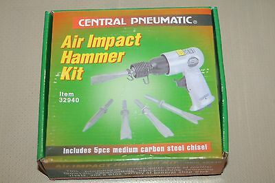 Central Pneumatic 32940 150mm Air Impact Hammer Kit New