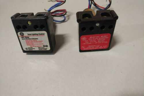 General Electric RR7 lighting control relay