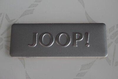 JOOP! Logo,Aluschild,für Betten,Schränke,Möbel usw NEU