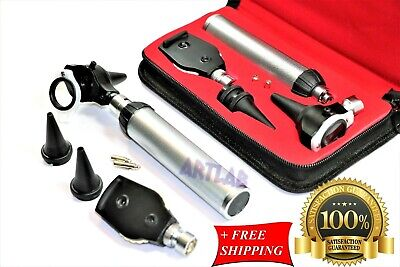 ENT EXAMINATION  DIAGNOSTIC OTOSCOPE SET, OPHTHALMOSCOPE, SPECULA, BULBS