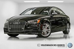 2016 Audi S3 2.0T Progressiv + NAVIGATION + CAMERA + CUIR