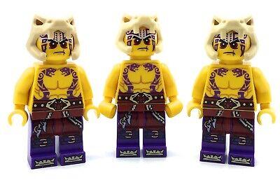 LEGO LOT OF 3 NINJAGO MINIFIGURES KRAIT ANACONDA CULTIST FIGURES