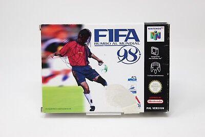 FIFA RUMBO AL MUNDIAL 98 NINTENDO 64 PAL n64 inv-3824