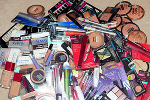 Wholesale Lot of 100 pcs Maybelline Loreal Revlon CG etc Makeup NO NAIL POLISH