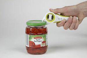 Kitchen Genie - 5 in 1 Muli Opener - Bottle Tops, Jars, Screw tops, Drinks Cans