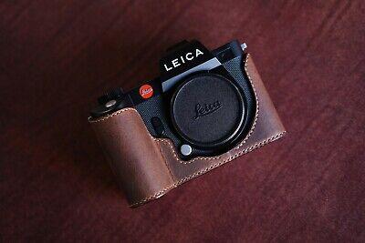 Leica SL2 / SL2-S half case (Protection type / Open type)  - Arte di mano -