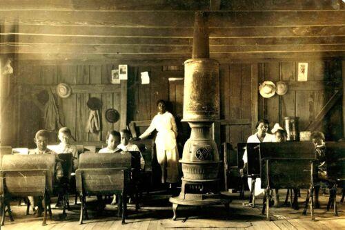 African-American School in Anthoston Kentucky-1916-8x12 Photo