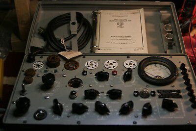Hickok Military Tv-7du Tv-7au Tv-7bu Tv-7u Tube Tester Calibration Service