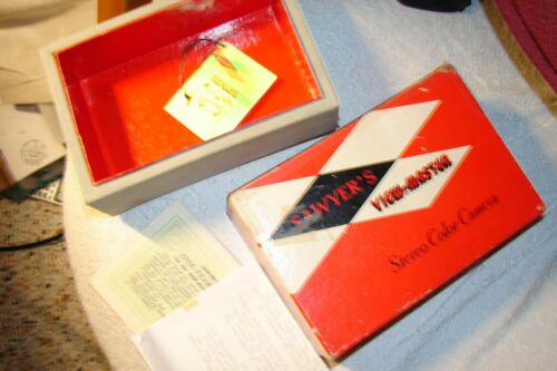 Viewmaster 3D Stereo Camera Box well made no side splits