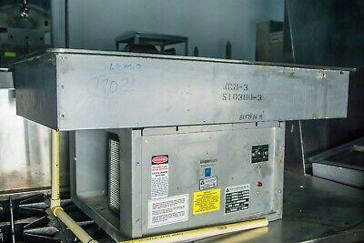 Atlas Metal Industries Electric Drop In Iced Salad Bar Cold Pan-3 Wells-std Dept