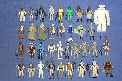 COMPLETE VINTAGE STAR WARS FIGURES WITH ORIGINAL ACCESSORIES (YOUR CHOICE)