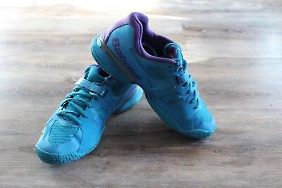 best service f4876 f403f Womens Babolat Tennis Shoes Size 8.5