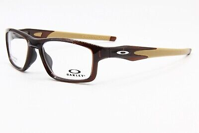 NEW OAKLEY OX 8090-0455 ROOTBEER AUTHENTIC EYEGLASSES FRAME OX8090 RX 55-17