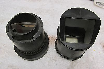 Lot Of 2 Optics For Canon Np780 Microfilm Reader