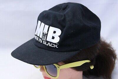 VTG 1997 MEN IN BLACK MIB Ray-Ban Strapback American Needle Hat Dad Cap Black