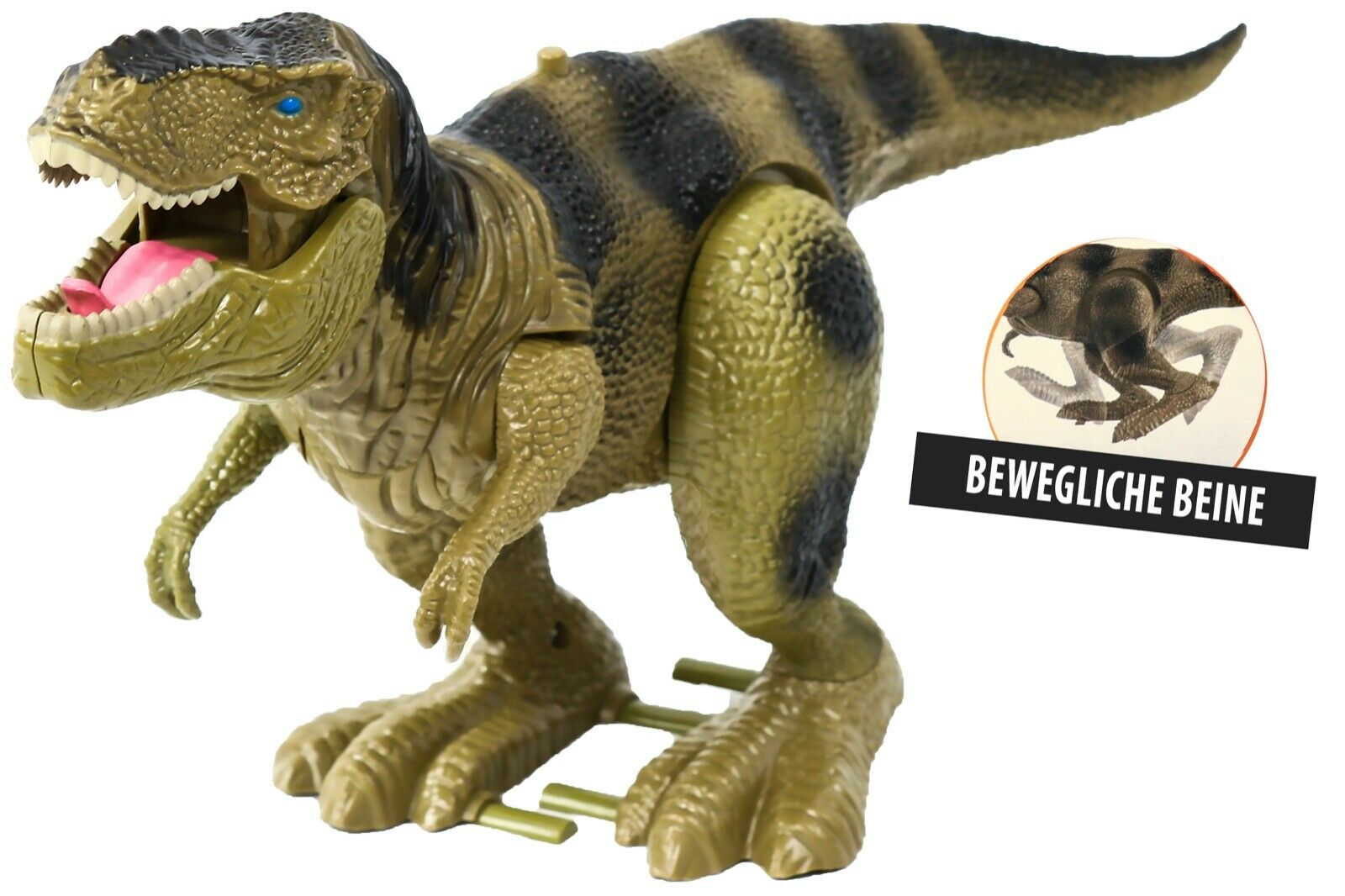 Trendario Dinosaurier Spielzeug Dino Figur Tyrannosaurus Rex - T-Rex mit Sound