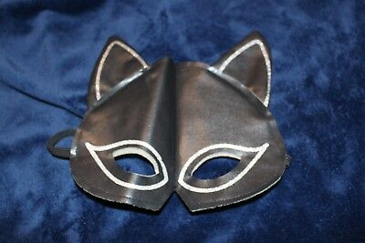 Black Cat Costume Mask for Halloween Cosplay