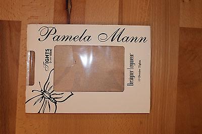 100 % Nylon Strumpfhose, Pamela Mann, sehr transparent, 15 DEN, one size