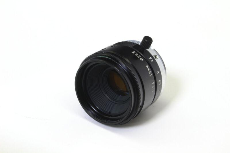 Tamron Machine Vision Lens 16mm F1.4 ᶲ25.5 C-mount 23fm16 Cognex Dvt Camera