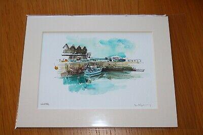 David Kearney  watercololour/pen Whitstable (7