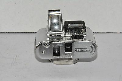 Tessina 35mm Half Frame Subminiature Camera w/ Manual, Case & wrist band
