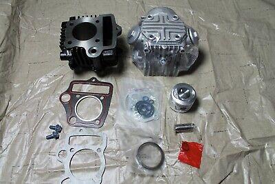 Honda CT70 Top End Rebuild Kit Cylinder Head Piston Valves Cam Gaskets For 69-94