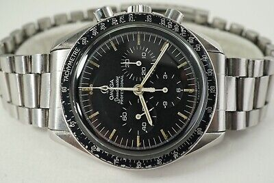OMEGA SPEEDMASTER PROFESSIONAL 145.022 MOON WATCH S/S DATES 1980. NO RESERVE !
