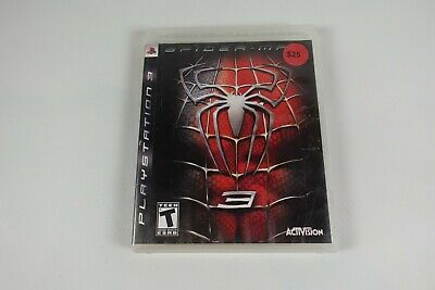 Spider-Man 3 (Sony PlayStation 3 PS3, 2007) w/ Case