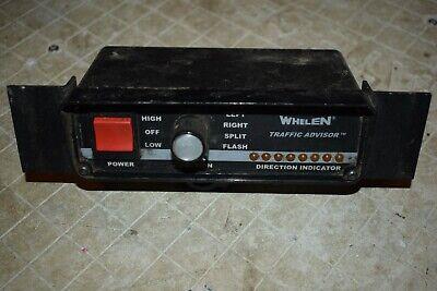 Whelen Traffic Advisor Control Box 01-0285854-11b Tactld1