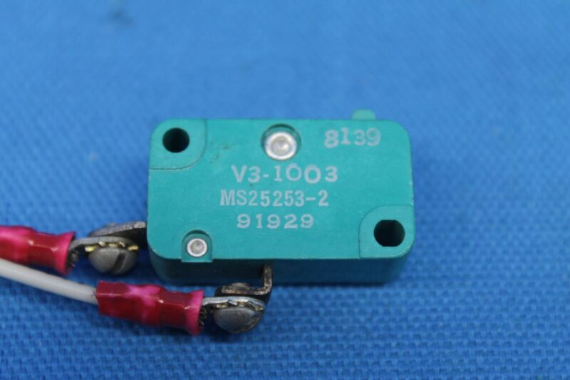 Microswitch P/N: MS-25253-2, V3-1003 (22382)
