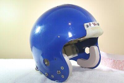 a691ee0c4ef Riddell Vtg NOS Adult WD1 Football Helmet size 8 3/8 XL '86 Royal DENVER  BRONCOS