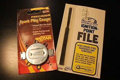 vintage Tune up tool 50s 60s 70s ignition points spark plug Accessory nos