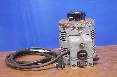 Superior Powerstat Type 116l Variable Autotransformer 7.5a 0-140vac .9kva