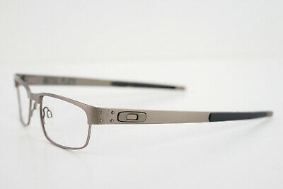 Oakley METAL PLATE Brushed Chrom 53-18-140 RX Prescription #22-199