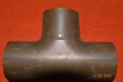 Copper Tee 1-18 Nibco Wrought Pressure Tube T Sweat Fitting Newfew May Be Epc