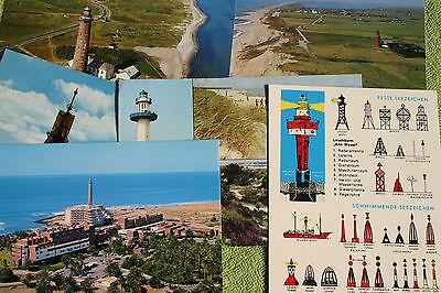 15 AK Leuchttürme Nordsee Cuxhaven Dänemark Spanien Norwegen Schweden Mallorca